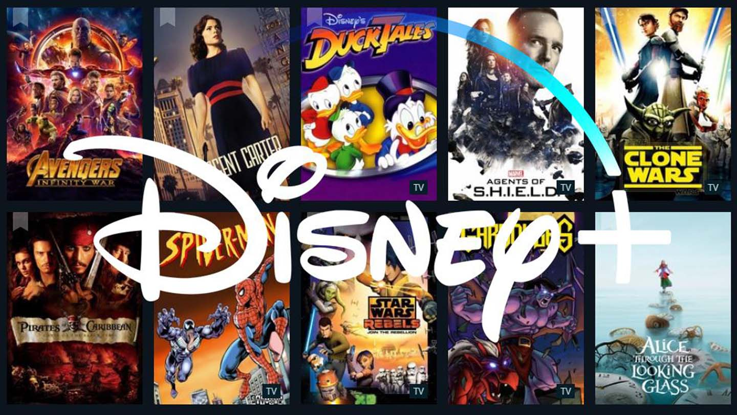 Disney + catalogo