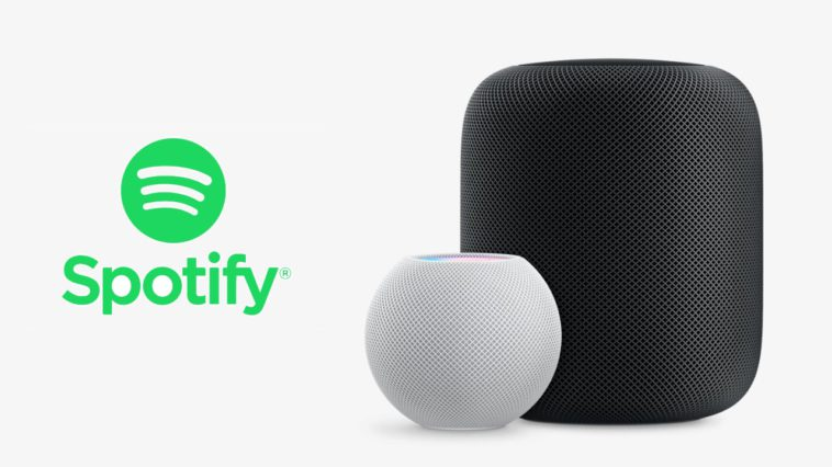 Spotify HomePod y HomePod mini